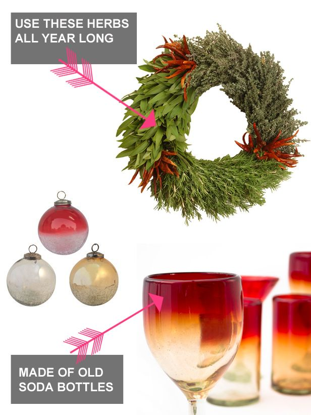 Freebie Fridays: Win Recycled #Holiday Decorations From Bambeco (http://blog.hgtv.com/design/2013/12/06/win-free-organic-recycled-christmas-decorations/?soc=pinterest)