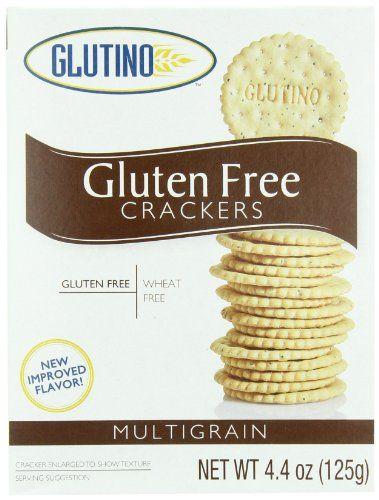 Glutino Gluten Free Multigrain Crackers, 4.4 « Blast Grocery