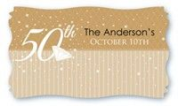 50th Wedding Anniversary Gift Tags : name tags for 50th wedding anniversary 50th Anniversary Ideas for m ...