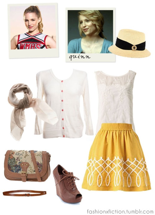 Quinn fabray outfits