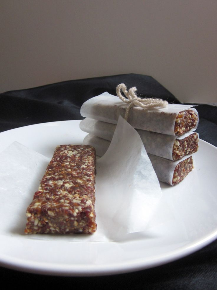 "Cherry Pie ""Larabars"" These look great! I used to pack soy joy bars..."