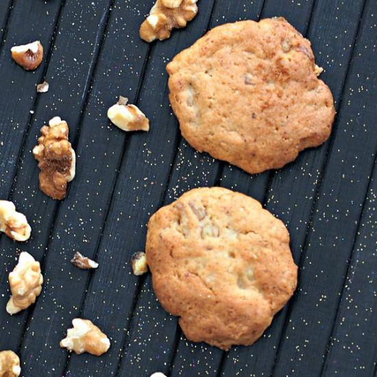 Gluten Free Banana Walnut Cookies | Cookies | Pinterest