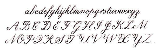 Beginner 39 S Calligraphy Letters Pinterest