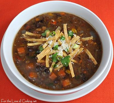 ... black bean soup black bean and roasted pepper soup black bean and