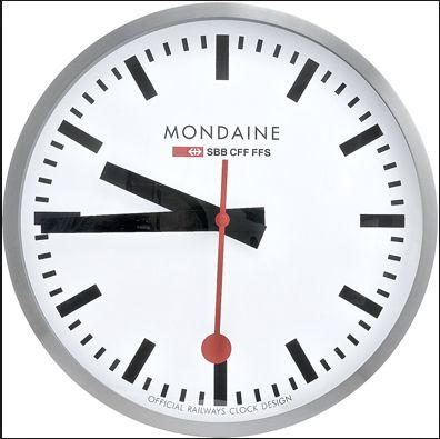 Mondaine Clock My Future Home Pinterest