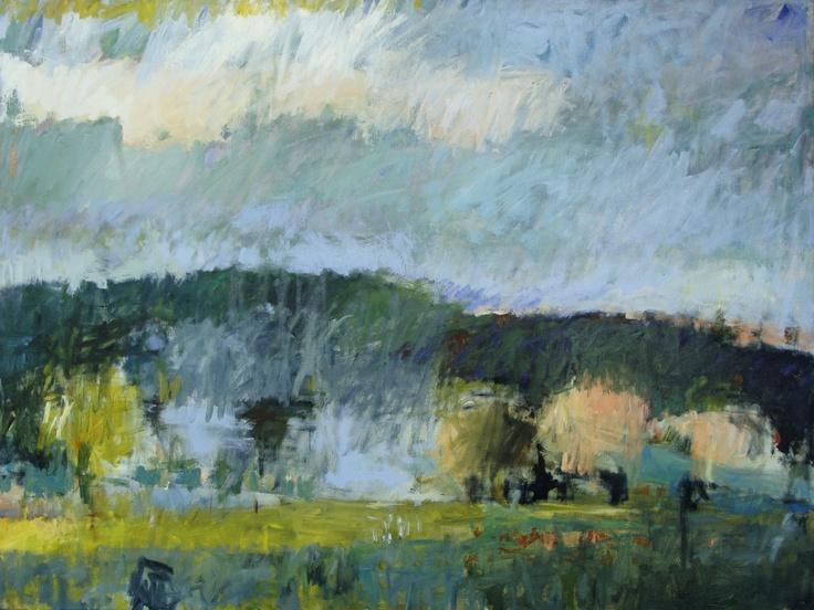 """""""Summer Mountians"""". Artist Margie Stewart."""