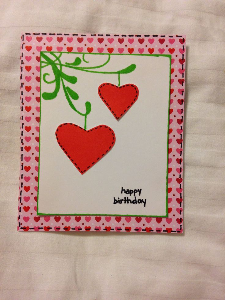 ... daughter. It is her tenth birthday. Scrapbook card. By: Le Bullon