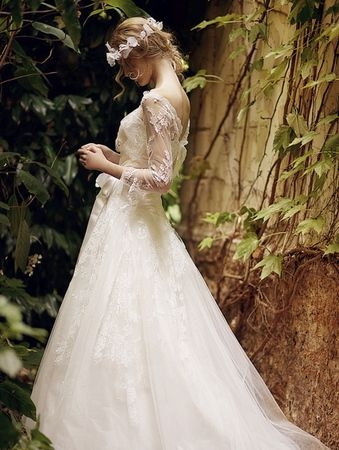 Elven wedding dress for Elven inspired wedding dresses