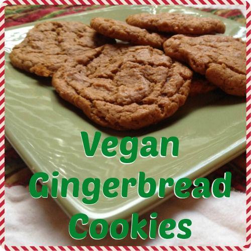 Easy Recipe for Vegan Gingerbread Cookies #cookies #vegan # ...