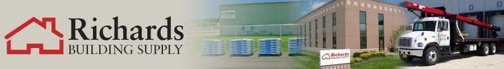 Richards Building Supply banner