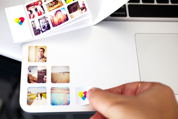 Sticker book of Instagram photos.  $10 for 252 stickers.
