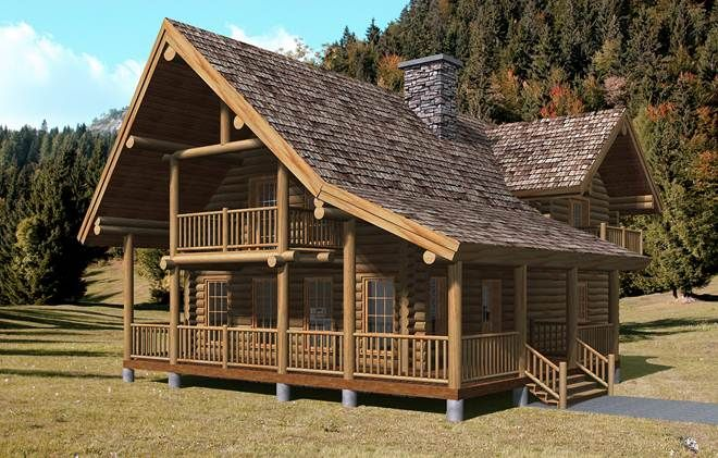 Log cabin yellowstone alaska ele house beautiful pinterest for Home builders alaska
