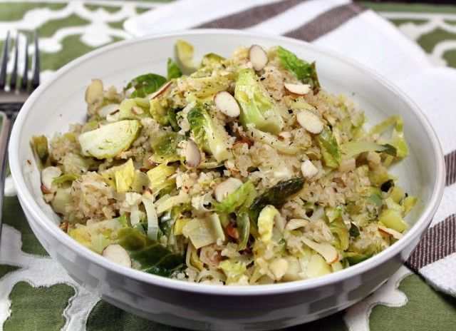 brussels sprouts stir-fry -- this was easy, few ingredients and ...
