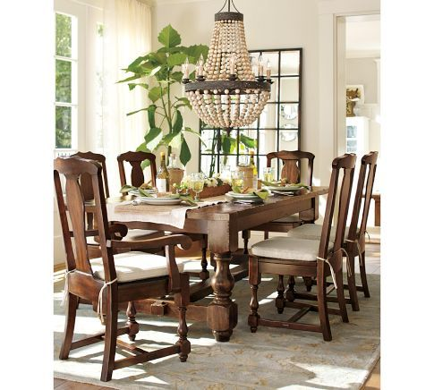 dining table pottery barn dining table