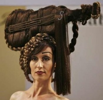 outrageous hairstyles : outrageous hairstyle! OMG What were you thinking? Pinterest