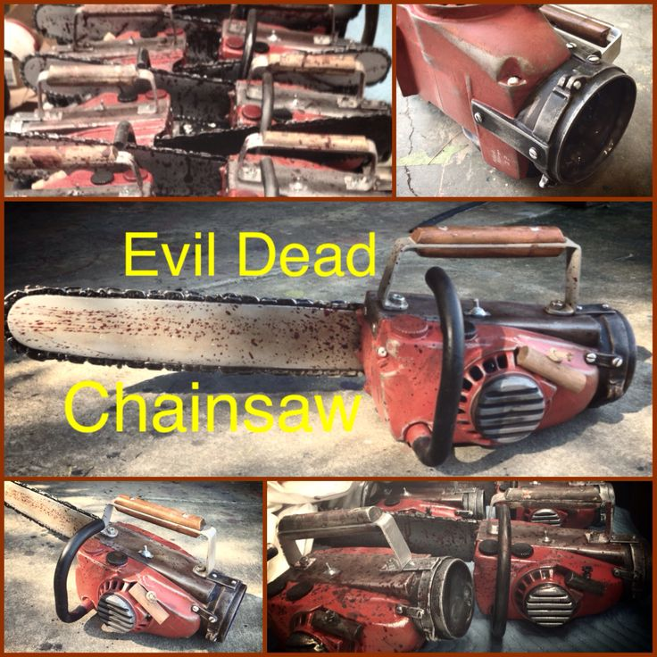 Evil Dead Chainsaw for sale on Etsy! Halloween is only a few months ...