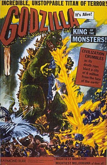 Godzilla - Raymond Burr Raymond Burr Godzilla