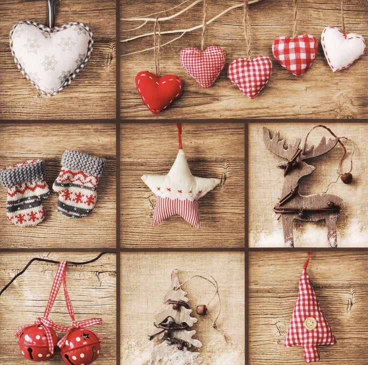 Scandinavian Style Christmas Christmas Ornaments Pinterest