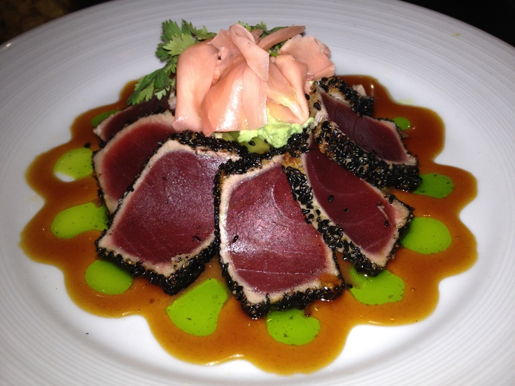 Pan Seared Ahi Tuna. | TX - Delicious Dishes from Local TX Restaurant ...