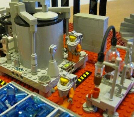 Breaking Bad Meth Lab in LEGO:: | Cal-Look
