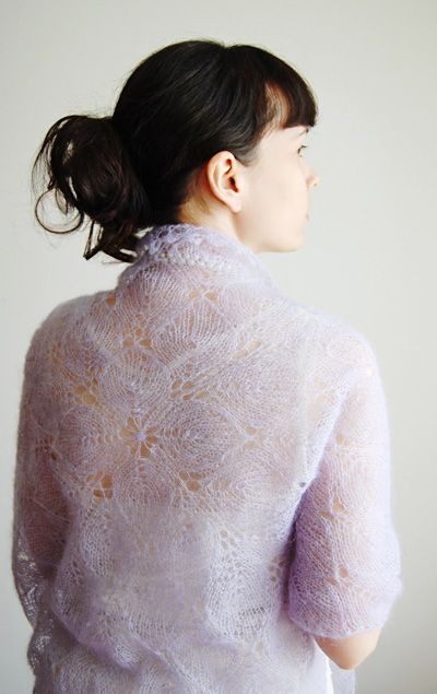 Lilaceous shawl: Knitty Winter 2012 http://www.knitty.com/ISSUEw12 ...