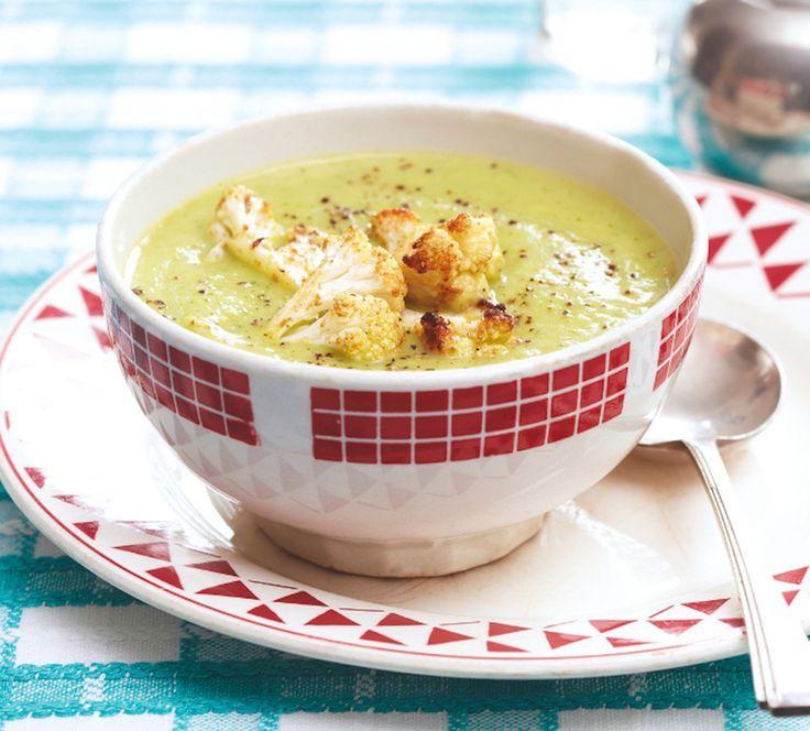 Cauliflower and Arugula Soup | Soups | Pinterest