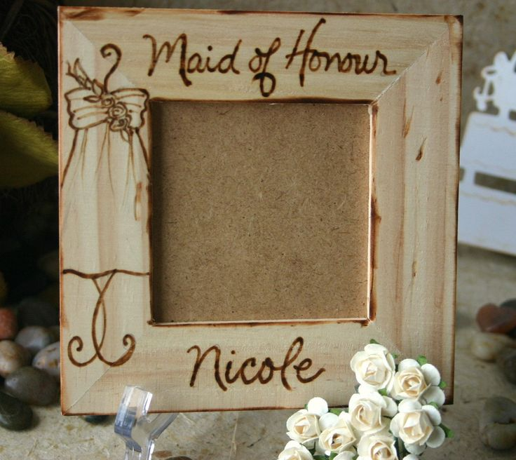of honor from bride Maid of Honor Honour Sentimental Wedding Gift ...