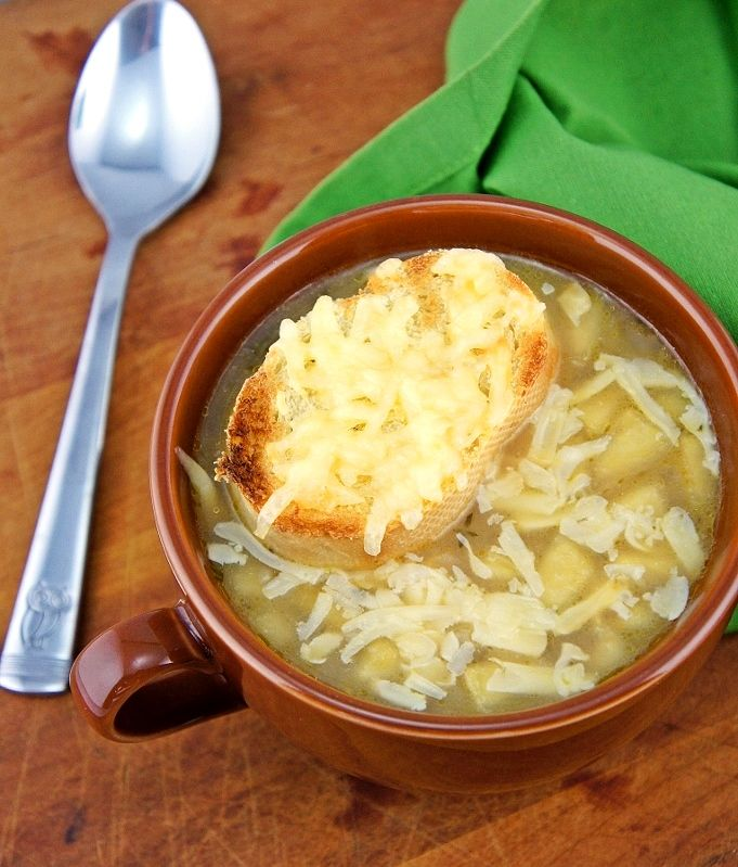 Apple French Onion Soup | Food | Pinterest