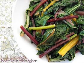 Meet Me in the Kitchen: Sauteed Rainbow Chard and Beet Greens