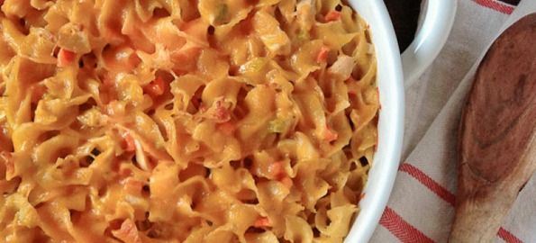 Turkey Noodle Casserole - not too bad. Could use less celery though.