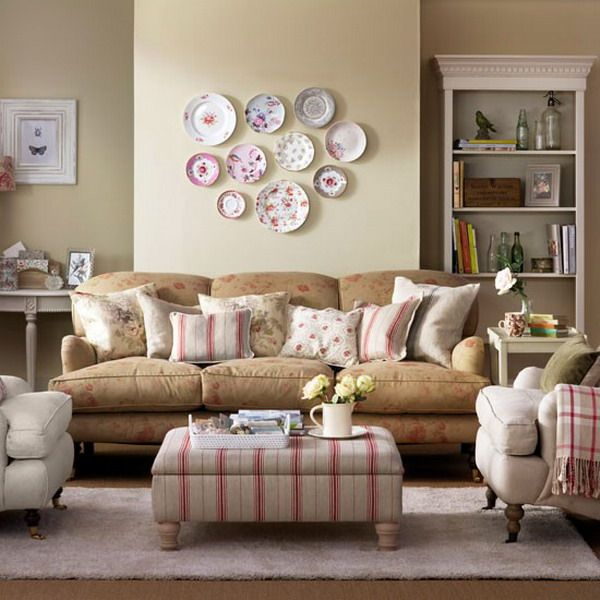 country living rooms faded floral living room completing living room
