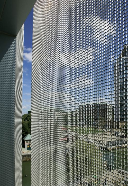 Privacy hardware cloth screen and plants windows some for Cloth privacy screen