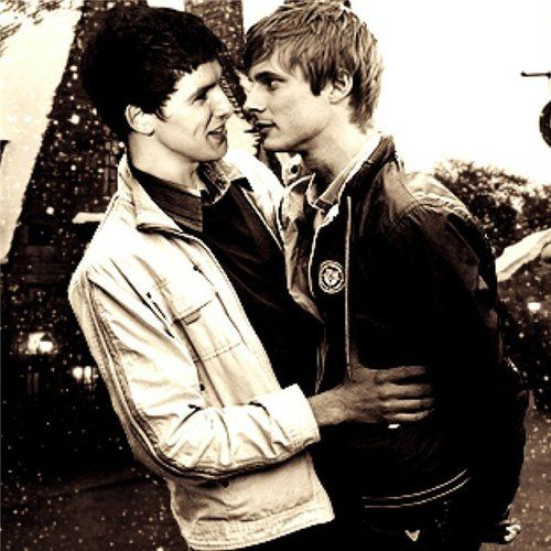 Brolin | Bradley James & Colin Morgan | Pinterest