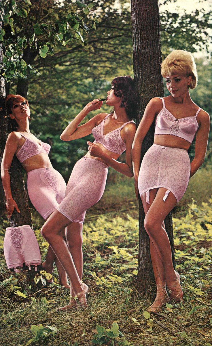 Wearing girdles in the 1960s