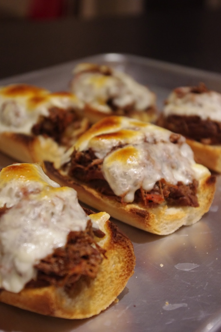 Slow-Cooker Italian Beef Sandwiches | Food & Drinks | Pinterest