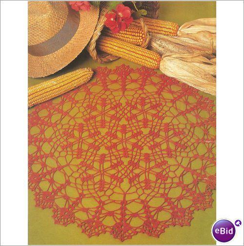 Crochet Doily Pattern Rich Harvest on eBid New Zealand