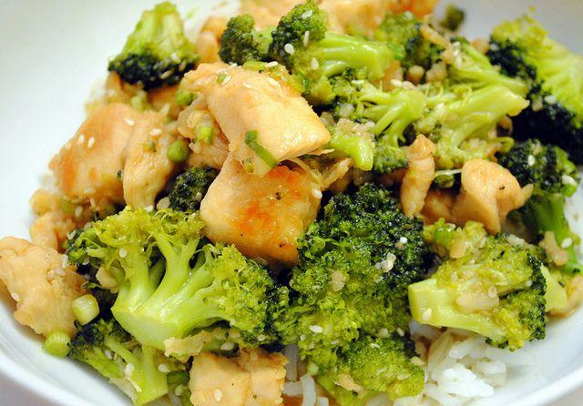 Lighter sesame chicken | healthy | Pinterest