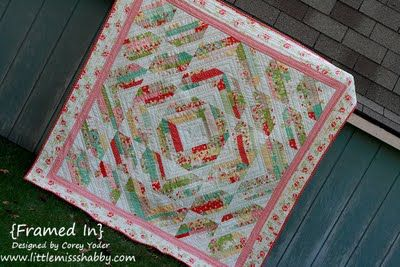 Free tutorial: Framed In Quilt | Quilting | Pinterest