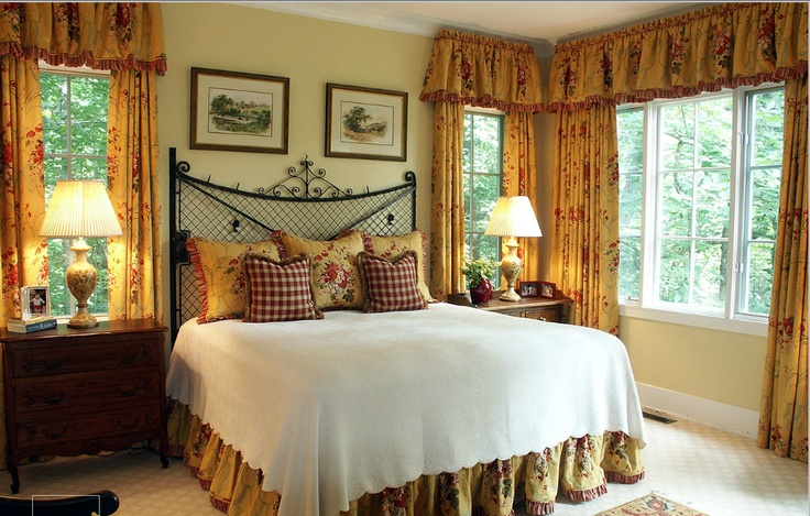 french country bedroom inside decor pinterest