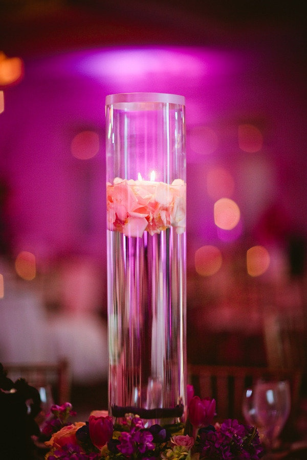 Floating flower petals in vase wedding event ideas for How to make flowers float in vases