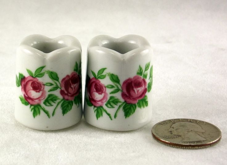 Funny Design candleholders - made in West Germany.