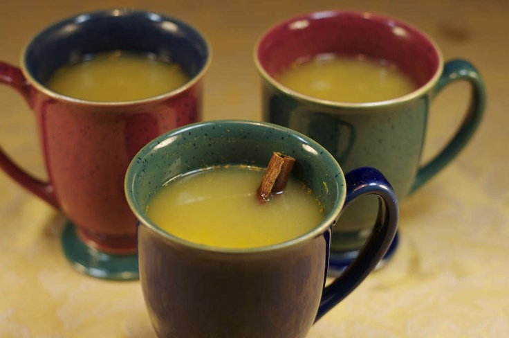Hot Ginger Spiced Apple Cider! Great autumn & winter drink that will ...