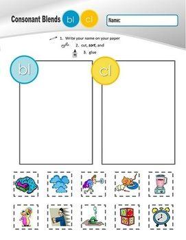 l family clusters bl cl gl fl pl sl 2 of 4 phonemic awareness sor. Black Bedroom Furniture Sets. Home Design Ideas