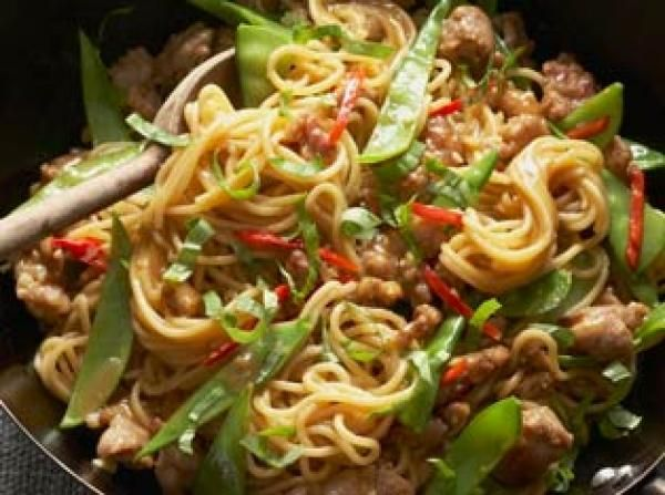 Chicken chow mein recipe for Asian cuisine grimes