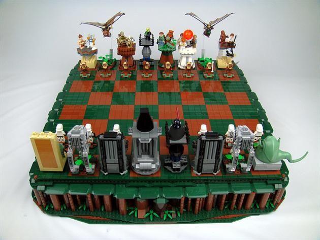 LEGO Star Wars Return Of The Jedi Chess Set (5)