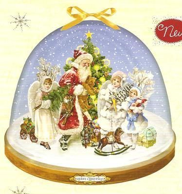 Advent Calendar Snow Globe