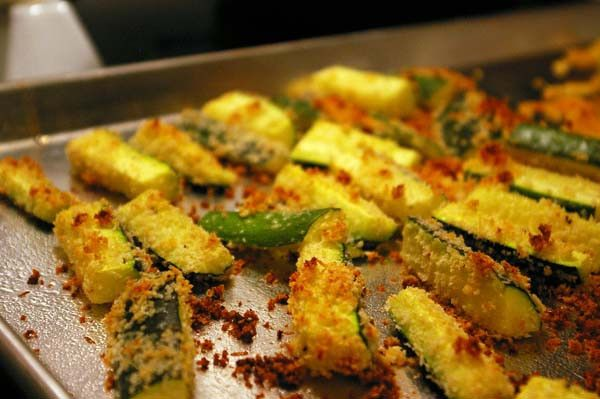 oven-baked-zucchini-fries-2   Recipies   Pinterest