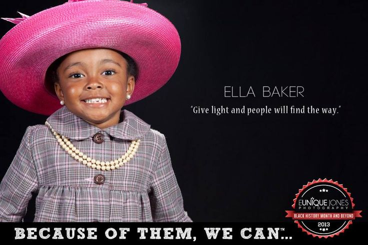 the life and work of ella baker Ella baker played a key role in some of the biggest ella baker's early life ella jo baker was people cannot be free until there is enough work in this land.