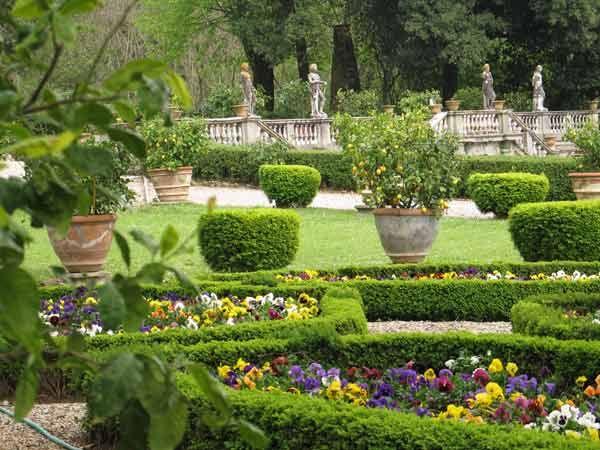 Villa Torrigiani Garden