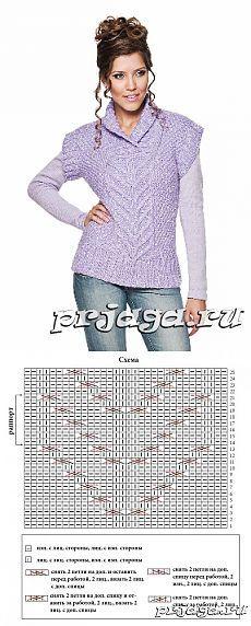 Женское вязание из ангоры